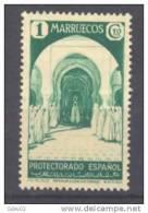 MA148-LA816TAN.Maroc.Maroco.MARRUECOS ESPAÑOL VISTAS Y PAISAJES  .1935-1937.(Ed 148*) Con Charnela MUY BONITO.RARO - 1931-Hoy: 2ª República - ... Juan Carlos I
