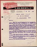 I.HUBERT & Cie, MANUFACTURE DE CHAUSSURES A FOUGERES / FACTURE DATEE 1948 - France