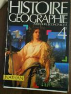 2418 Histoire Geographie Initiation Economique Ed Nathan - Encyclopédies