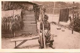 GABON/un Chrétien Galoa/ 1936     CPD50 - Gabon