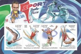 Burundi 2012 Postfris MNH Sports - 2010-..: Ongebruikt