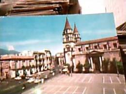 ACIREALE STAZIONE DI CURA PIAZZA DUOMO E CORSO SAVOIA AUTOBUS  AUTO CAR  N1970  EB9693 - Acireale