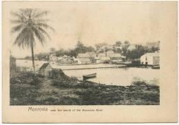 Monrovia Near The Mouth Of The Mesurado River Undivided Back - Liberia
