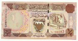 Bahrein - 1/2 Dinar, - Bahrein