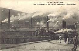 30 - BESSÈGES - Gard - Vue Générale Des Forges Et Puits De Robiac - Bessèges