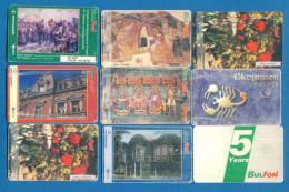 D385 / 9 - Phonecards Télécartes  Telefonkarten Schede Telefoniche Bulgaria Bulgarie Bulgarien Bulgarije - Bulgaria