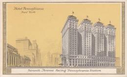 Hotel Pennsylvania, New York - Seventh Avenue Facing Pennsylvania Station - Hotels & Restaurants