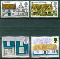 Großbritannien  1970  Ländliche Architektur  (4 ** (MNH) Kpl. )  Mi: 535-38 (0,80 EUR) - Nuovi