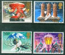 Großbritannien  1983  Weihnachten  (4 Gest. (used))  Mi: 970-73 (3,00 EUR) - 1952-.... (Elizabeth II)
