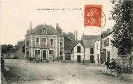 44 - SOUDAN - LA PLACE DE L'EGLISE - France