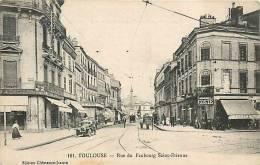 Déc12 444 : Toulouse  -   Rue Du Faubourg Saint-Etienne - Toulouse
