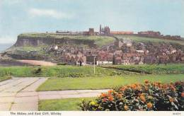 WHITBY - THE ABBEY AND EAST CLIFF - Whitby
