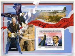 Guinée ** Bloc N° 900 - Pt Obama Et Nelson Mandela - Guinea (1958-...)