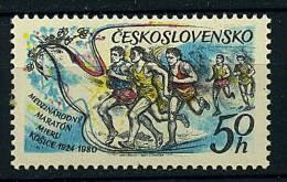 Tchécoslovaquie ** N° 2375 - 50e Ann. Du Marathon International De La Paix - Lot 217 - B 20 - - Tchécoslovaquie