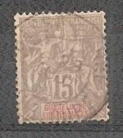 Guadeloupe N°42 (o) - Guadeloupe (1884-1947)