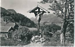 Les Sciernes D´Albeuve. Vue Partielle, Crucifix - FR Fribourg