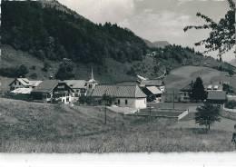 Les Sciernes D´Albeuve. Vue Partielle, Près De L'église - FR Fribourg