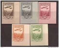 ES650-L2121TSC.Spain.Espagne.Monasterio De  MONTSERRAT AEREA .Avion. Montañas.1931.(Ed.650/4sd *)con Charnela .LUJO - Sellos