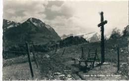 Les Sciernes D´Albeuve. Croix De La Crétaz, Banc De Branches - FR Fribourg