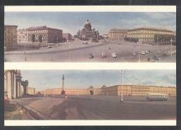 436 RUSSIA 1963 ENTIER POSTCARD A 05298 (*) Mint PETERSBURG ISAAC CATHEDRALE SQUARE COLUMN BLUE BRIDGE INSTITUTE HOTEL - 1923-1991 USSR