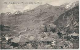 Les Sciernes D´Albeuve Et  Le Vanil Noir - FR Fribourg