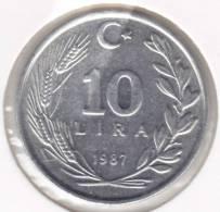 @Y@   Turkije  10 Lira 1986   (2018) - Turquie