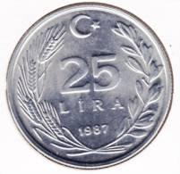 @Y@   Turkije  25 Lira 1987          (2020) - Turquie