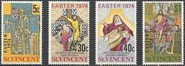 St. VINCENT..1974..Michel # 346-349...MNH. - St.Vincent (...-1979)