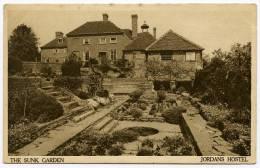 JORDANS HOSTEL : THE SUNK GARDEN - Buckinghamshire