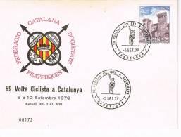 0269. Tarjeta Barcelona 1979. Ciclismo, Volta Ciclista Catalunya - Ciclismo