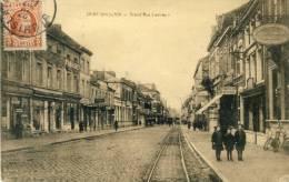 Saint-Ghislain - Grand'Rue - Nombreux Commerces - 1925 ( Voir Verso ) - Saint-Ghislain