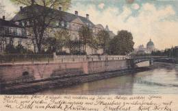 View Of Palace, Bridge And Dome Building, Strassbourg, Alsace, France, 00-10s - Alsace