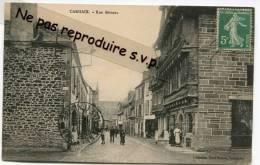 - CARHAIX - Rue Brizeux, Femmes, Animation,  Commerces, Cachet PARAME Et Convoyeur, Scans. - Carhaix-Plouguer