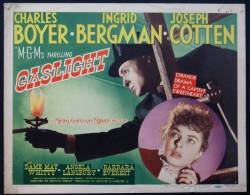 Cartel Affiche Poster GASLIGHT Movie Poster (1944) Size: Lobby Card (11x14) REPRODUCTION - Afiches