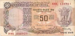 BILLETE DE LA INDIA DE 50 RUPEES    (BANKNOTE) - India