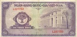 Vietnam, South - Vietnam, Pick 9 A, 200 Dong, 1958 ! - Vietnam