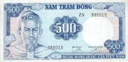 Vietnam, South - Vietnam, Pick 23 A, 500 Dong, 1966 ! - Vietnam
