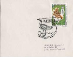 FDC   ROMANIA / ROUMANIE  1995  Bird / Oiseau