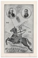 PORTUGAL SALAZAR - 1140-1640-1940 Oito Séculos De História Carte Postale - Personnages