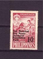 1961 PHILIPPINES  2° Jamboree Yvert Cat.  N° 512   Perfect MNH ** - Scouting