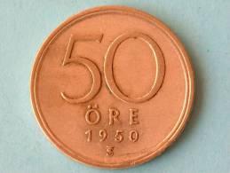 1950 TS - 50 ORE / KM 817 ( For Grade, Please See Photo ) ! - Suède