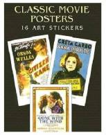 Stickers - 16 Art Stickers Cassics Movie Posters - Stickers