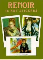 Stickers - 16 Art Stickers Auguste Renoir - Stickers