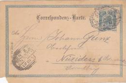 AUSTRIA  -   BLUDENZ, NEIZIDERS  -  VORARLBERG  -  1902 - 1850-1918 Empire