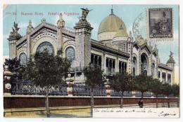 AMERICA ARGENTINA BUENOS AIRES ARGENTINE PAVILLION Nr. 34 OLD POSTCARD 1907. - Argentina