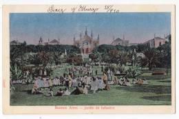 AMERICA ARGENTINA BUENOS AIRES KINDERGARTEN OLD POSTCARD 1910. - Argentina