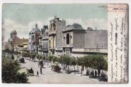 AMERICA ARGENTINA BUENOS AIRES THE COLLAO AVENUE OLD POSTCARD 1906. - Argentina