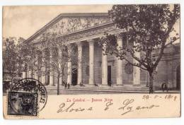 AMERICA ARGENTINA BUENOS AIRES THE CATHEDRAL OLD POSTCARD 1904. - Argentina