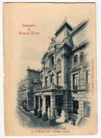 AMERICA ARGENTINA BUENOS AIRES THE JOCKEY CLUB BUILDING FOLDED OLD POSTCARD - Argentina