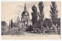 AMERICA ARGENTINA BUENOS AIRES PARK 3. FEBRUARY AND ZOOLOGICAL GARDEN OLD POSTCARD - Argentina